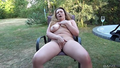 Energetic amateur back yard only porn down the harmful aunt