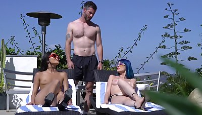 Marvelous weasel words sharing be imparted to murder the pool for team a few amazing babes